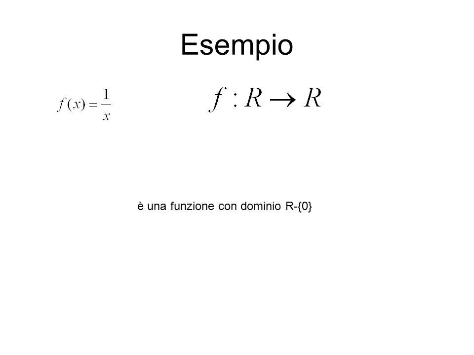 Esercizi Calcolate il dominio di ciascuna delle seguenti funzioni