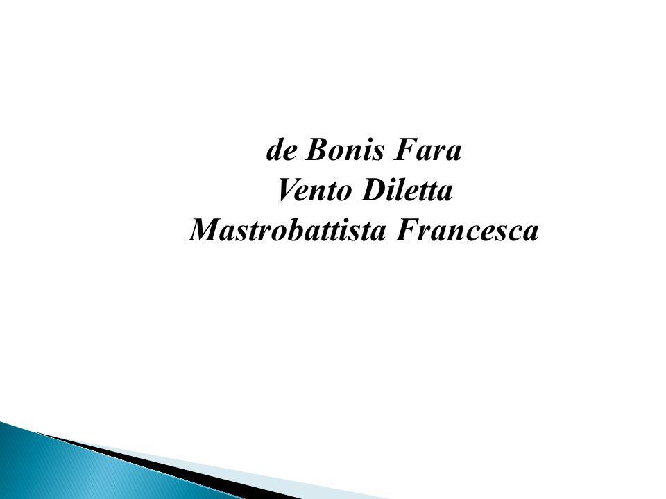 de Bonis Fara Vento Diletta Mastrobattista Francesca