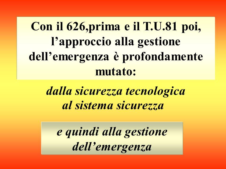Piano/pianificare : Organizzare secondo criteri di programmazione Emergenza : Improvvisa difficoltà che impone di intervenire urgentemente