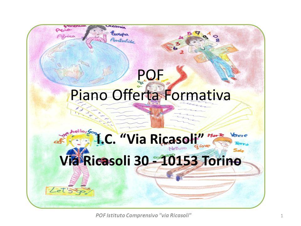 """POF Piano Offerta Formativa I.C. """"Via Ricasoli"""" Via Ricasoli 30 - 10153 Torino 1 POF Istituto Comprensivo"""
