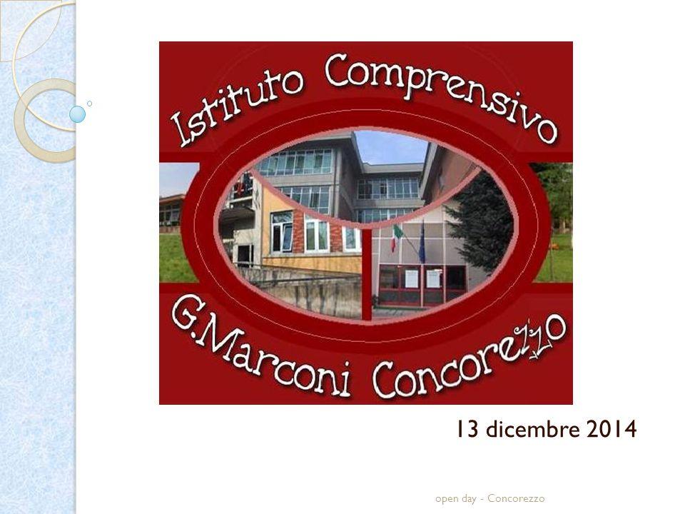 open day - Concorezzo 13 dicembre 2014