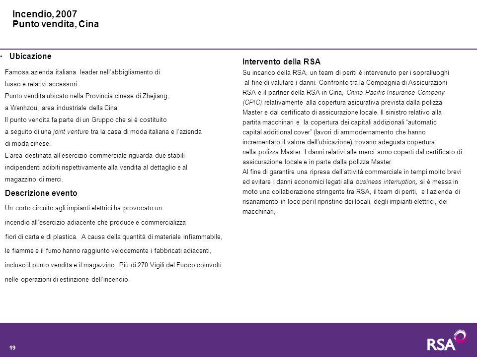 19 Famosa azienda italiana leader nell abbigliamento di lusso e relativi accessori.