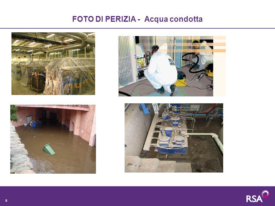 8 FOTO DI PERIZIA - Acqua condotta