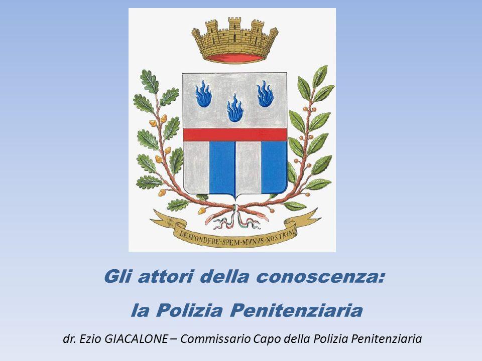 Gli attori della conoscenza: la Polizia Penitenziaria dr.