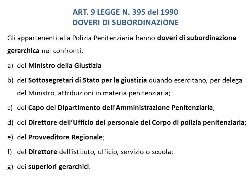 ART.9 LEGGE N.
