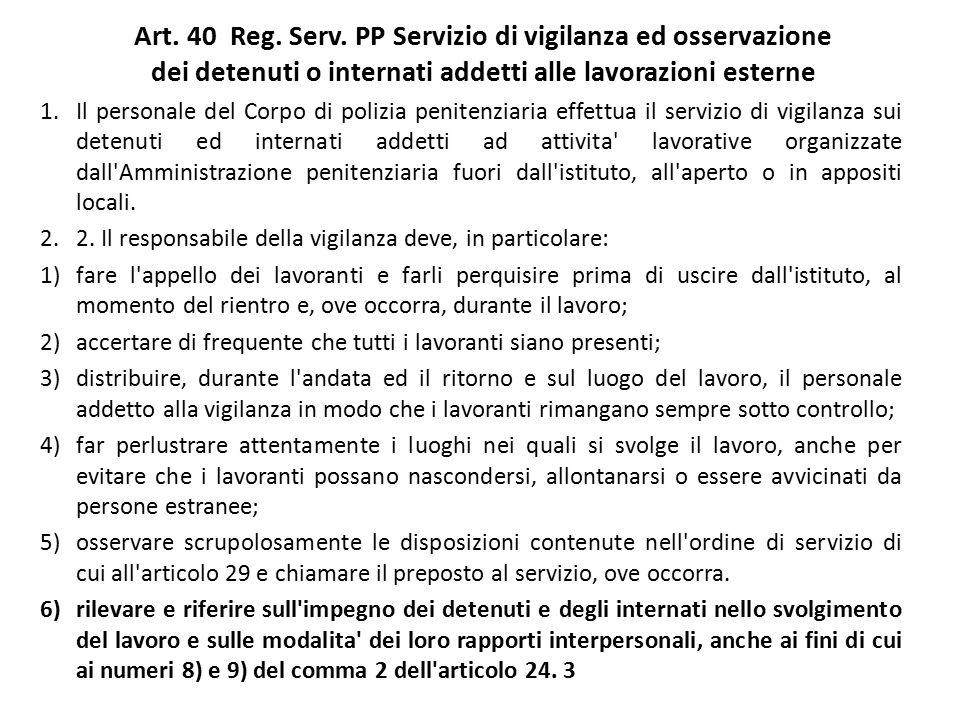 Art.40 Reg. Serv.