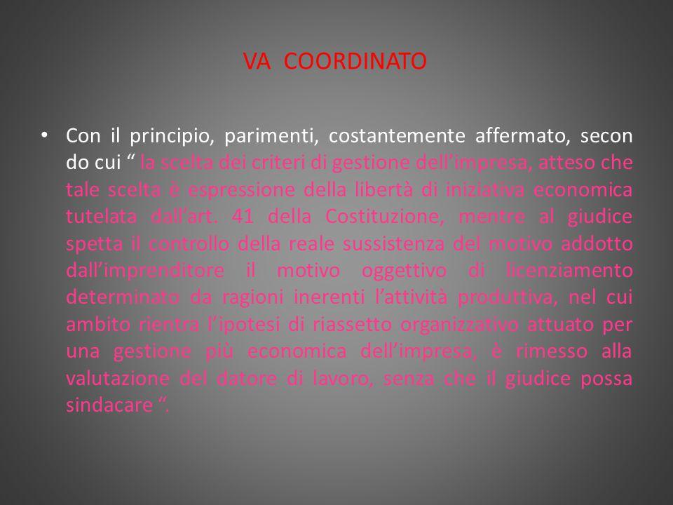 Legge n. 99/2013 Ipotesi di licenziamento per g.m.o.