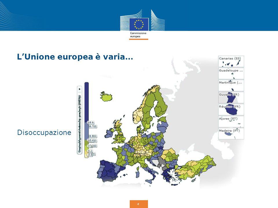 4 L'Unione europea è varia… Disoccupazione