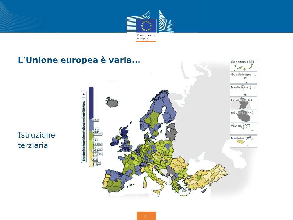 6 Perché una Politica di coesione UE.