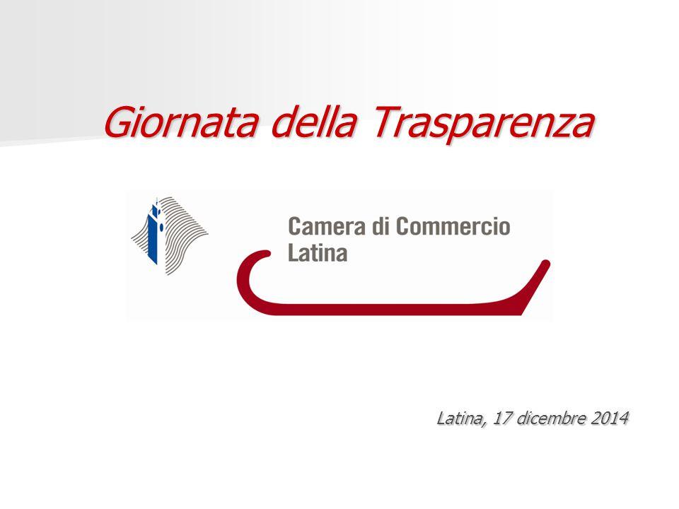 Giornata della Trasparenza Latina, 17 dicembre 2014