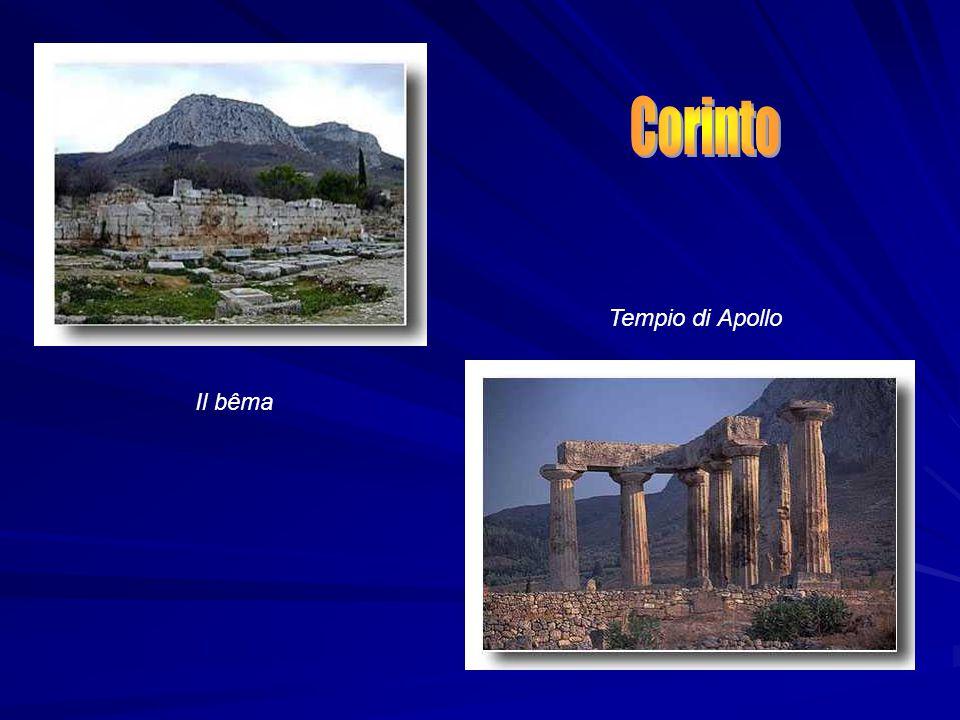 Il bêma Tempio di Apollo