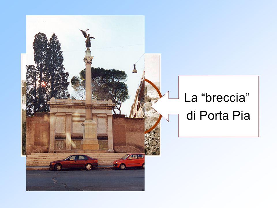 """La """"breccia"""" di Porta Pia"""