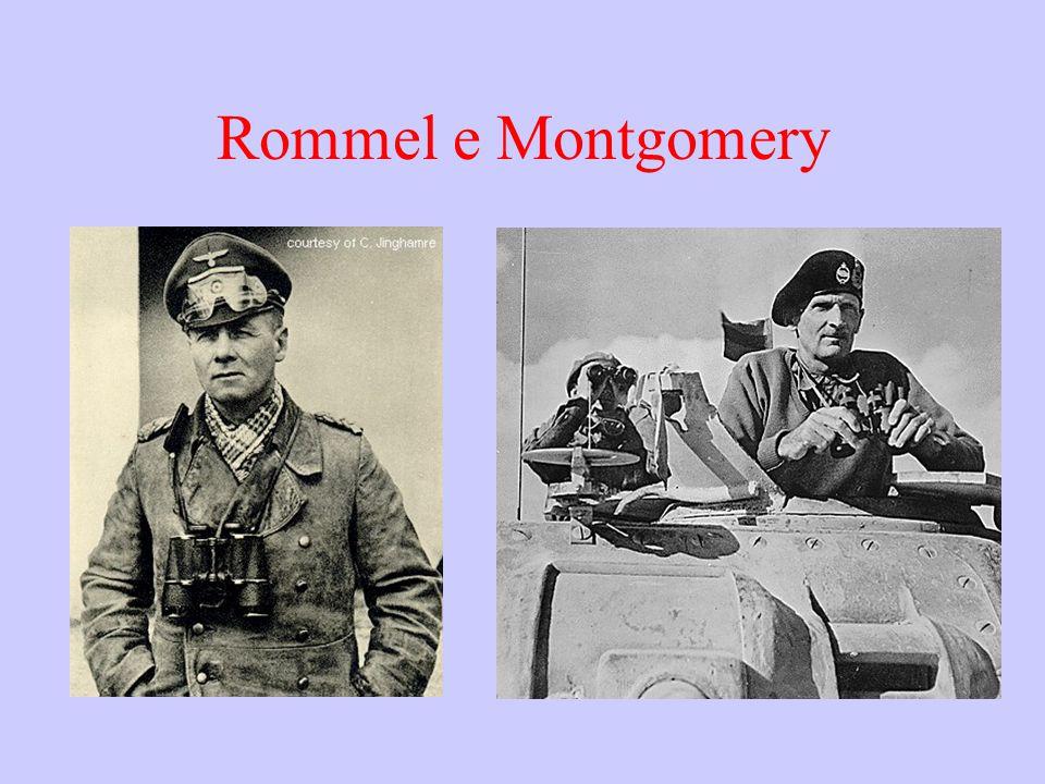 Rommel e Montgomery