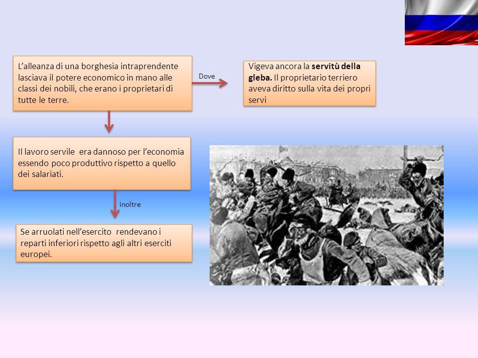 L'alleanza di una borghesia intraprendente lasciava il potere economico in mano alle classi dei nobili, che erano i proprietari di tutte le terre. Vig