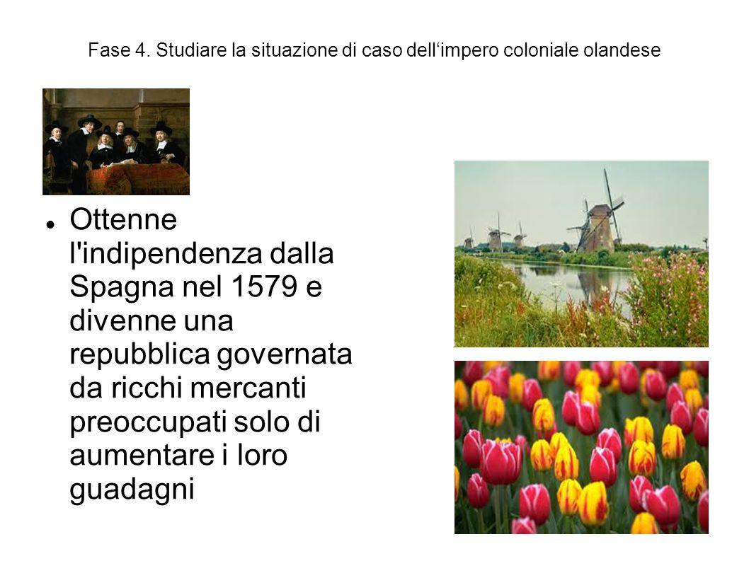Fase 4. Studiare la situazione di caso dell'impero coloniale olandese Ottenne l'indipendenza dalla Spagna nel 1579 e divenne una repubblica governata