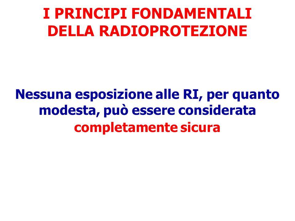 Coefficienti nominali di rischio per effetti stocastici (ICRP60/1990) Popolazione esposta Neoplasie maligne fatali Neoplasie maligne NON fatali Effett