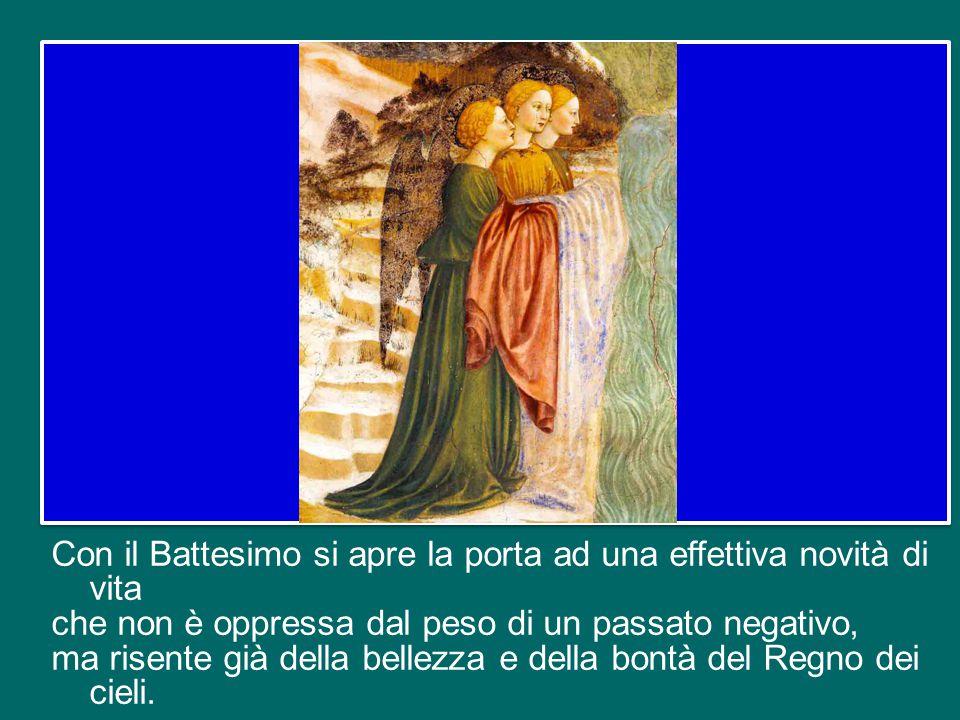 Nel sacramento del Battesimo sono rimessi tutti i peccati, il peccato originale e tutti i peccati personali, come pure tutte le pene del peccato.