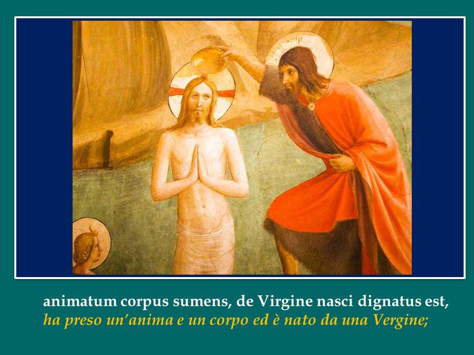 È un termine solenne che indica la grande importanza dell'oggetto, cioè del Battesimo.