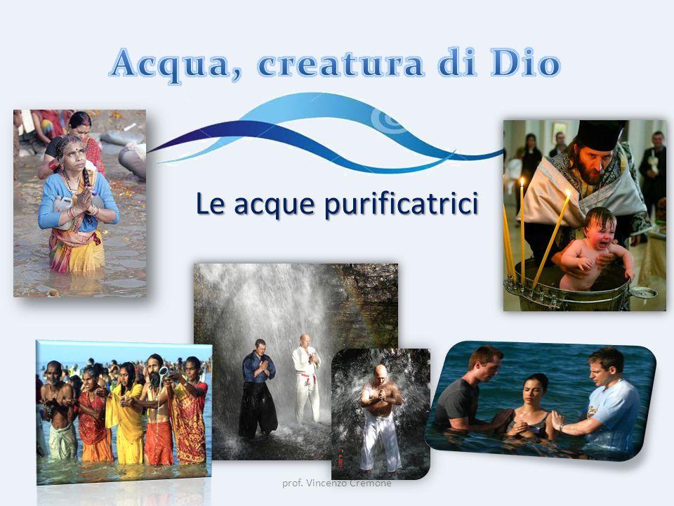 prof. Vincenzo Cremone Le acque purificatrici