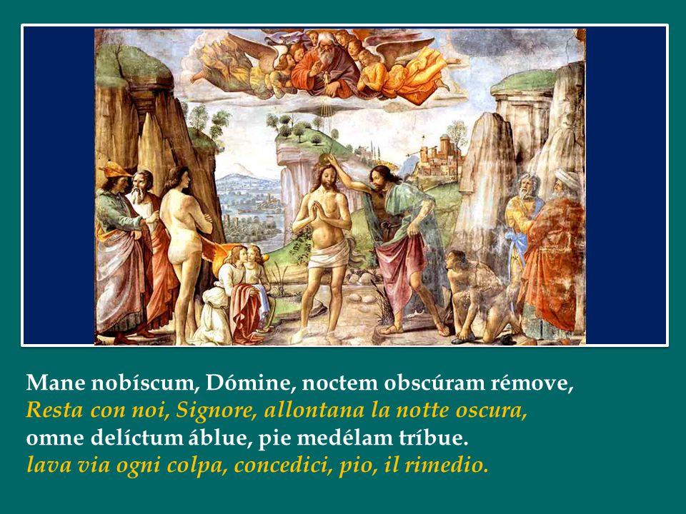 Noi, con il Battesimo, veniamo immersi in quella sorgente inesauribile di vita che è la morte di Gesù, il più grande atto d'amore di tutta la storia;