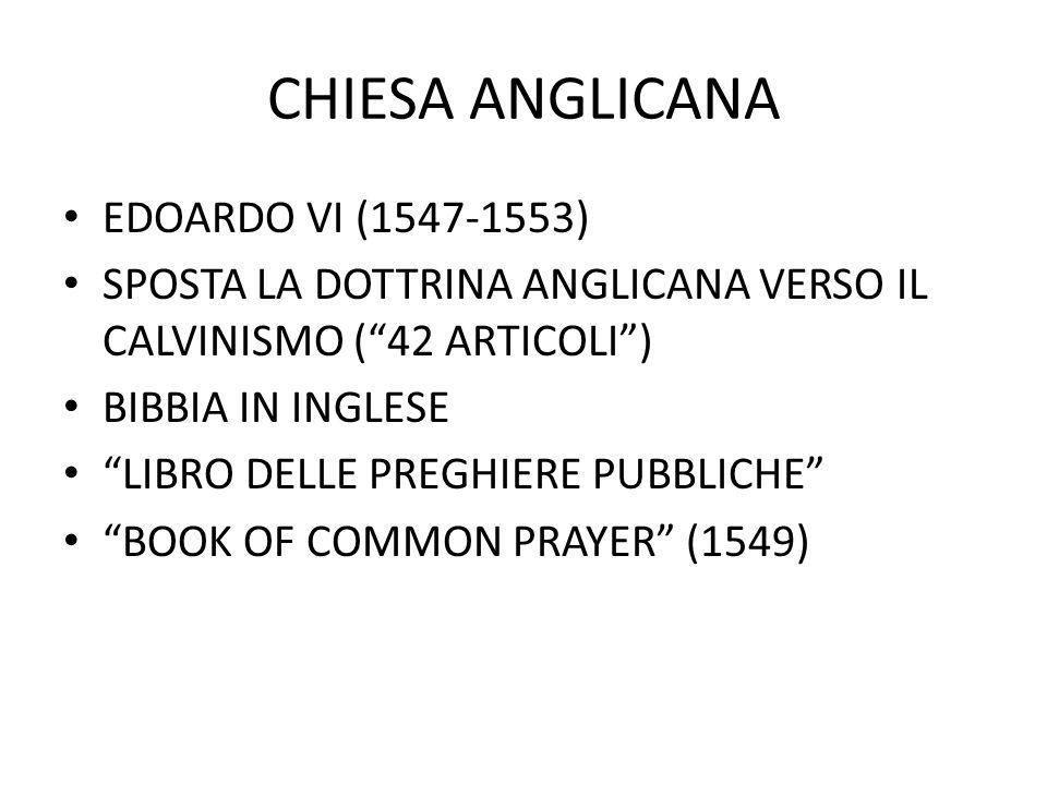 """CHIESA ANGLICANA EDOARDO VI (1547-1553) SPOSTA LA DOTTRINA ANGLICANA VERSO IL CALVINISMO (""""42 ARTICOLI"""") BIBBIA IN INGLESE """"LIBRO DELLE PREGHIERE PUBB"""