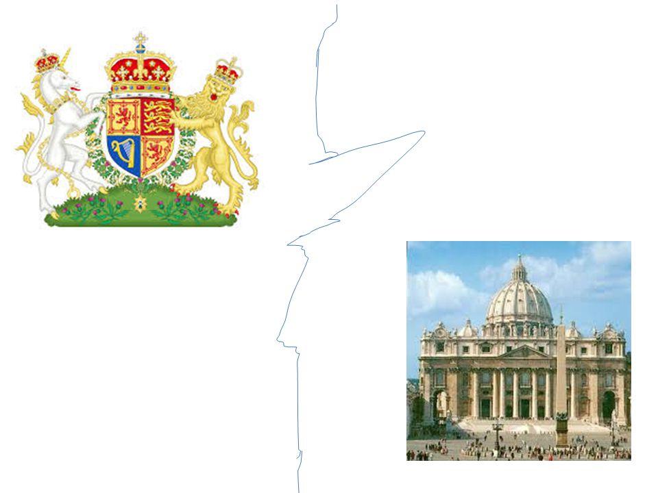 CHIESA ANGLICANA La Chiesa anglicana fu costituita nel 1534, quando Enrico VIII fece approvare dal parlamento l' Atto di supremazia , con il quale si sostituiva al papa nel governo della Chiesa.