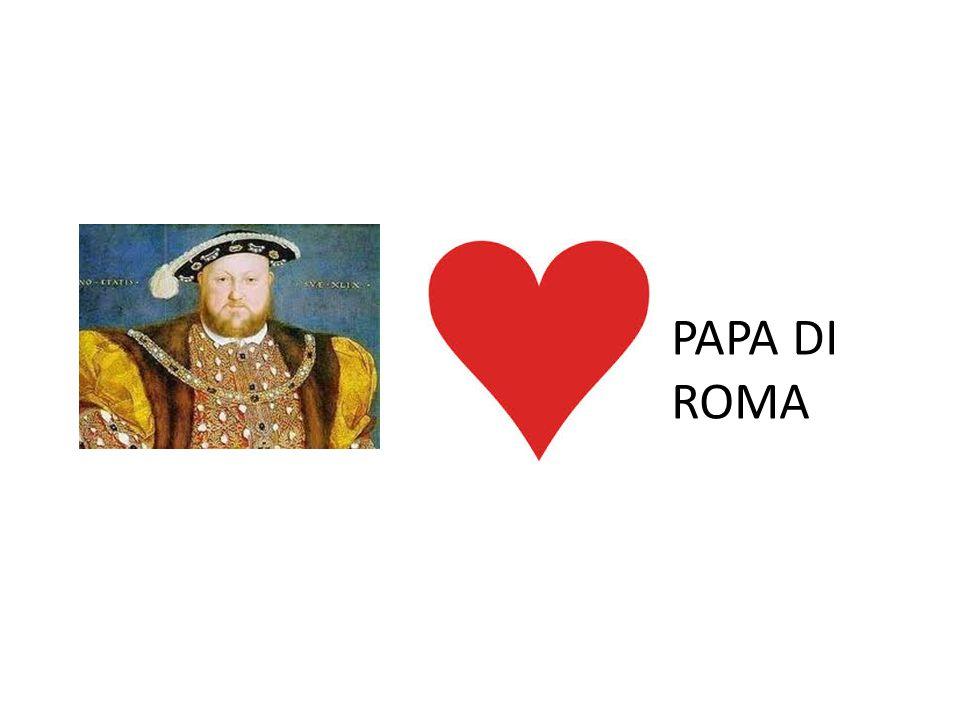 CHIESA ANGLICANA MARIA TUDOR (1553 – 1558) TENTA DI RIPRISTINARE IL CATTOLICESIMO