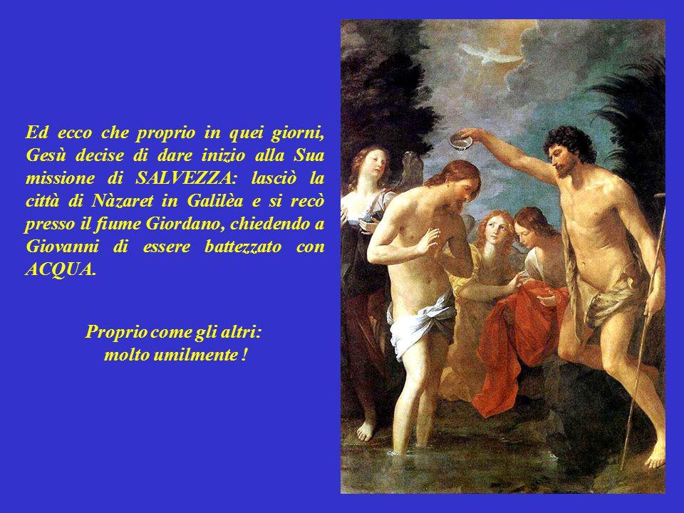 Io vi ho battezzato solo con ACQUA, Lui invece vi battezzerà il cuore: infiammandolo di Spirito Santo!
