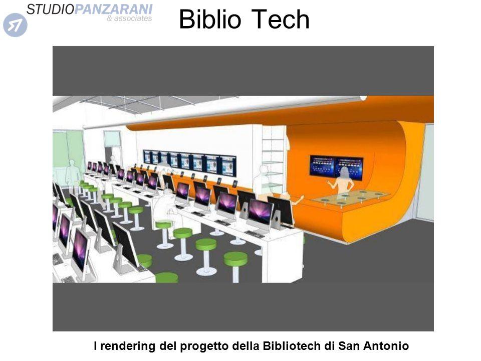 Biblio Tech I rendering del progetto della Bibliotech di San Antonio