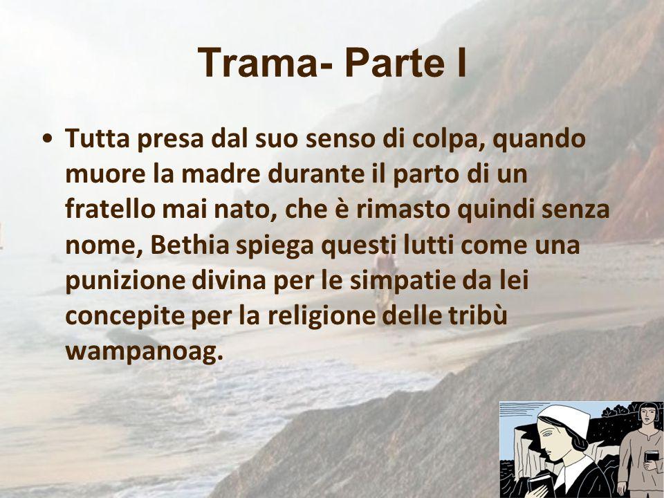 Trama- Parte I Tutta presa dal suo senso di colpa, quando muore la madre durante il parto di un fratello mai nato, che è rimasto quindi senza nome, Be
