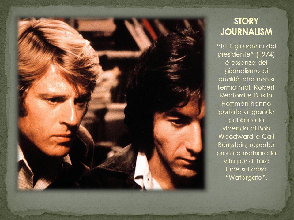 Un'altra categoria di giornalisti che ha fatto grande il cinema è quella dei cronisti in cerca di riscatto.