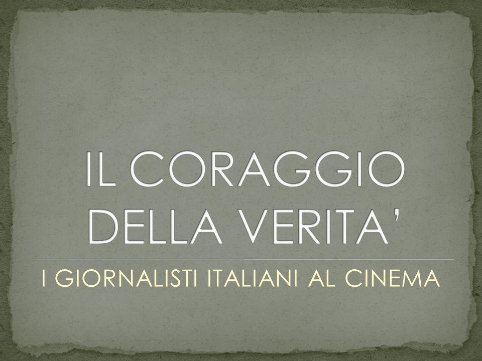 I GIORNALISTI ITALIANI AL CINEMA