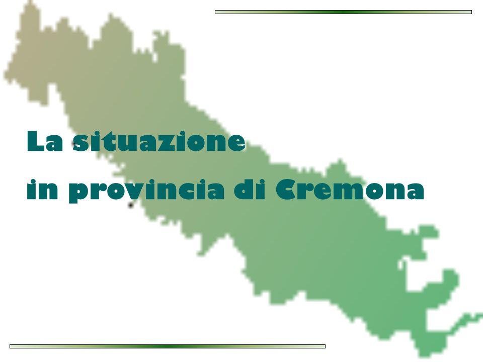 La situazione in provincia di Cremona