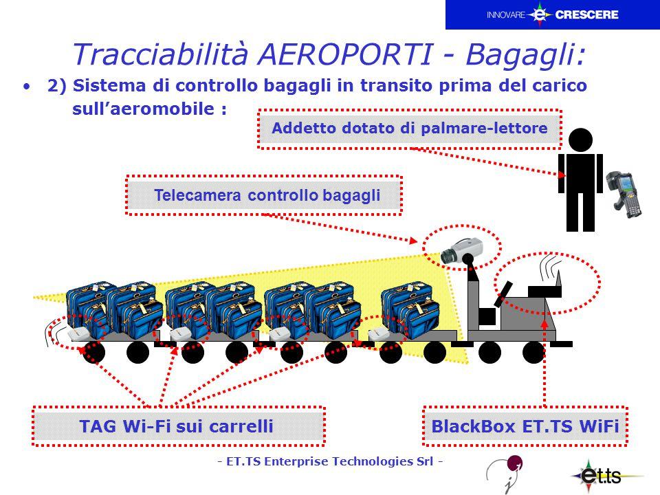 - ET.TS Enterprise Technologies Srl - Tracciabilità OSPEDALI e Pronto Soccorso