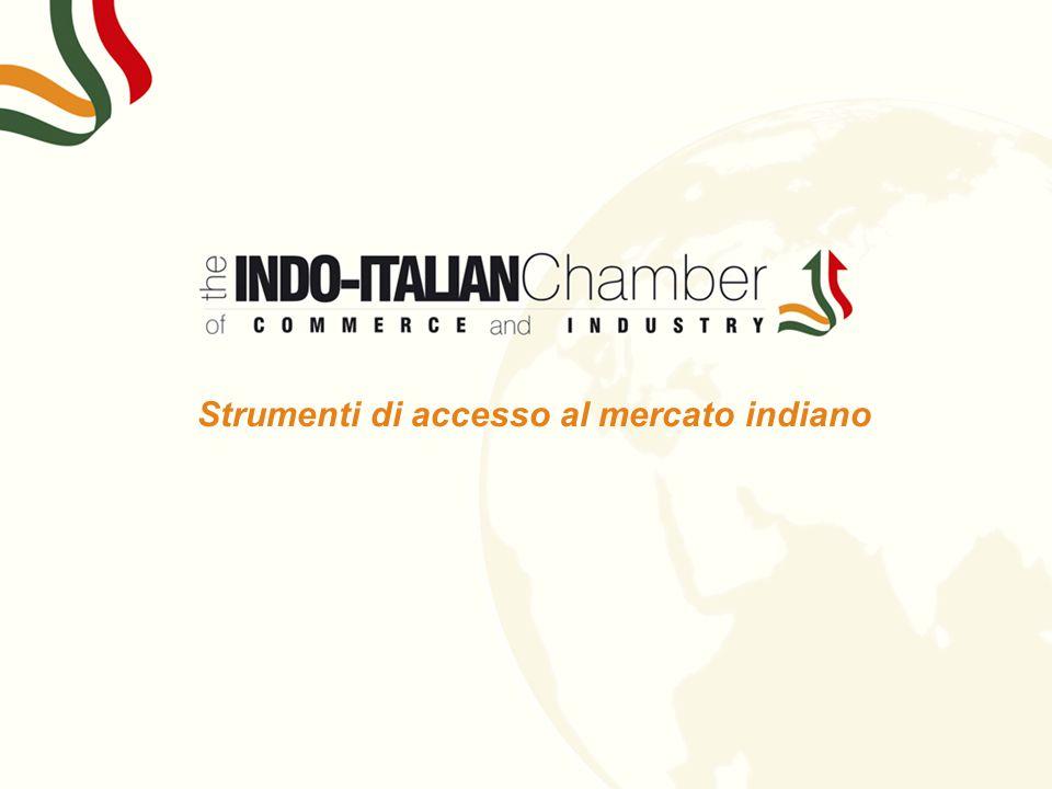 s Strumenti di accesso al mercato indiano