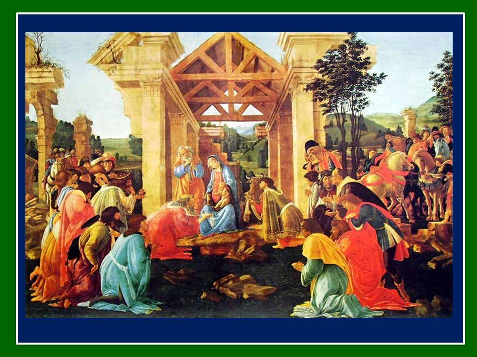Vídimus stellam eius in Oriénte, Abbiamo visto la Sua stella in Oriente, et vénimus cum munéribus adoráre Dóminum. e siamo venuti con doni ad adorare
