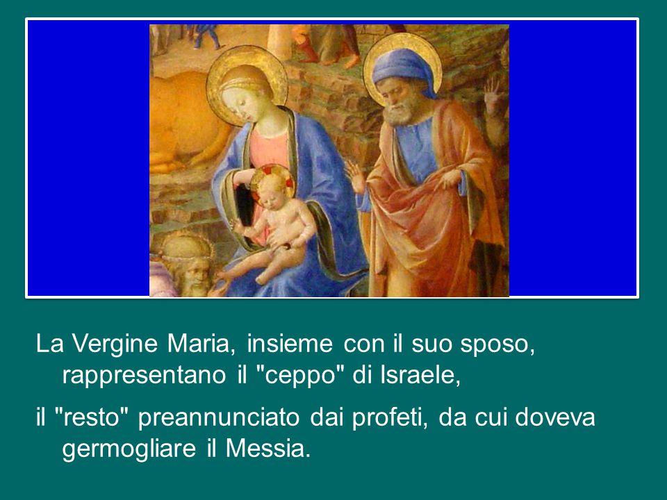 E' un accostamento che fa riflettere anche dal punto di vista della fede: da una parte, a Natale, davanti a Gesù, vediamo la fede di Maria, di Giusepp