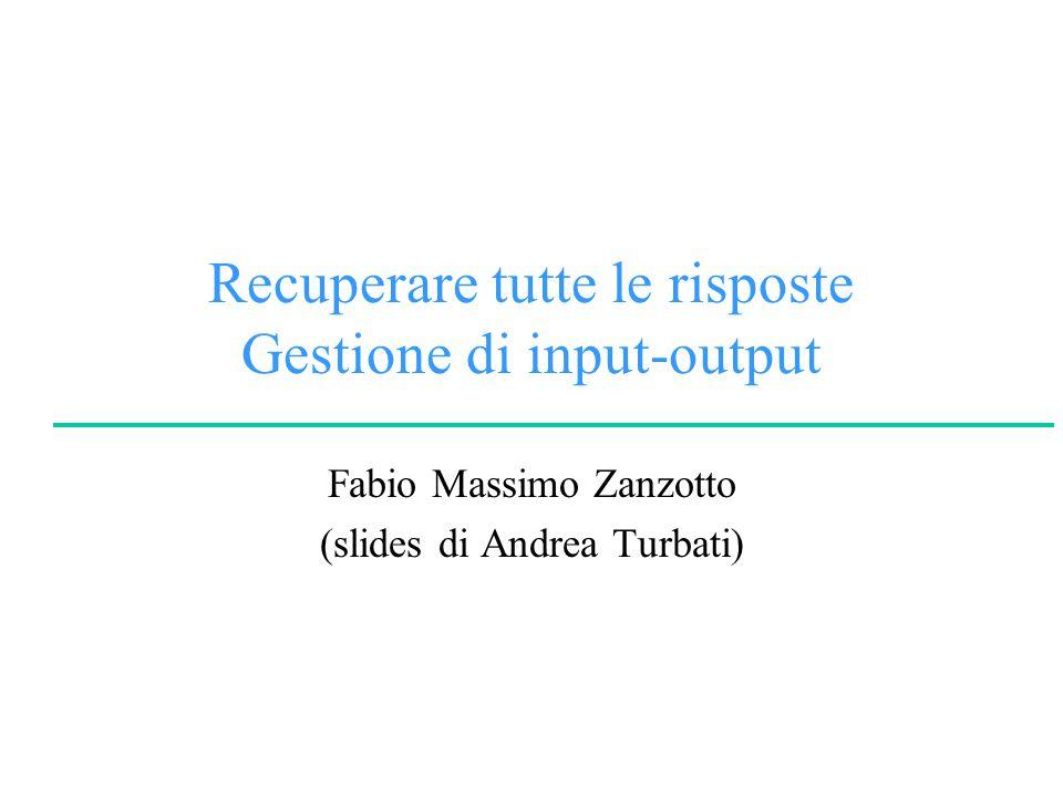 © A.Turbati, F.M.ZanzottoLogica per la Programmazione e la Dimostrazione Automatica University of Rome Tor Vergata Ricordando .