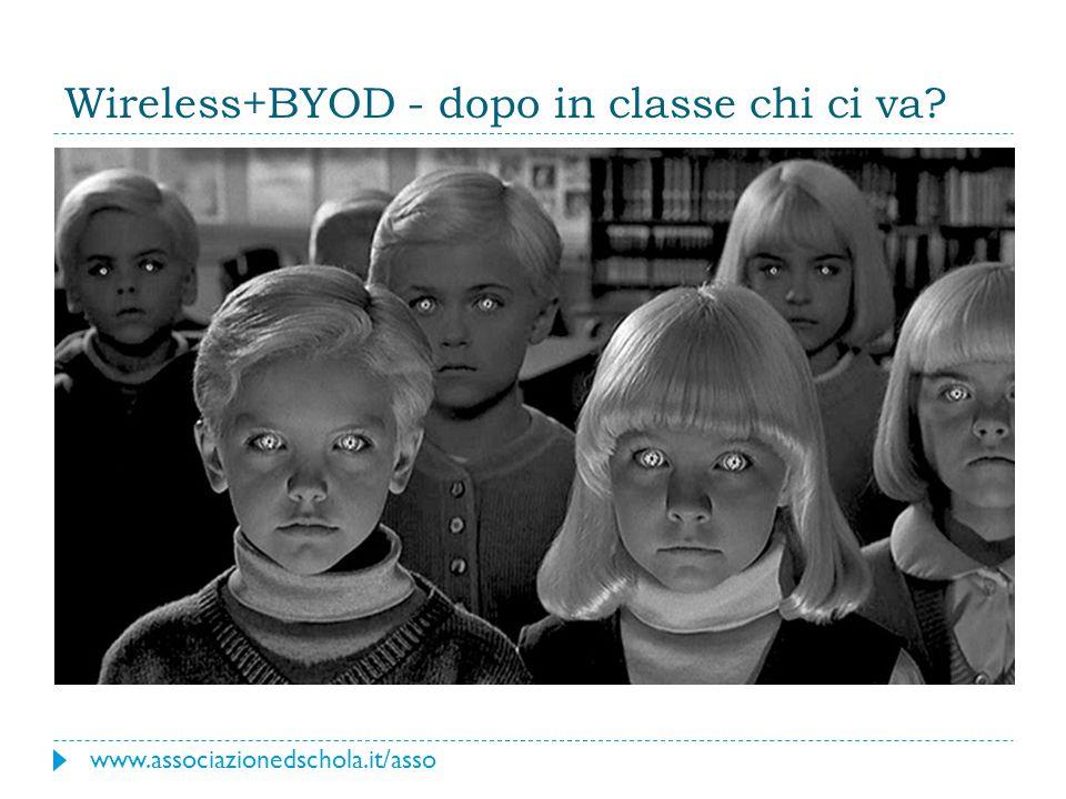 Wireless+BYOD - dopo in classe chi ci va? www.associazionedschola.it/asso