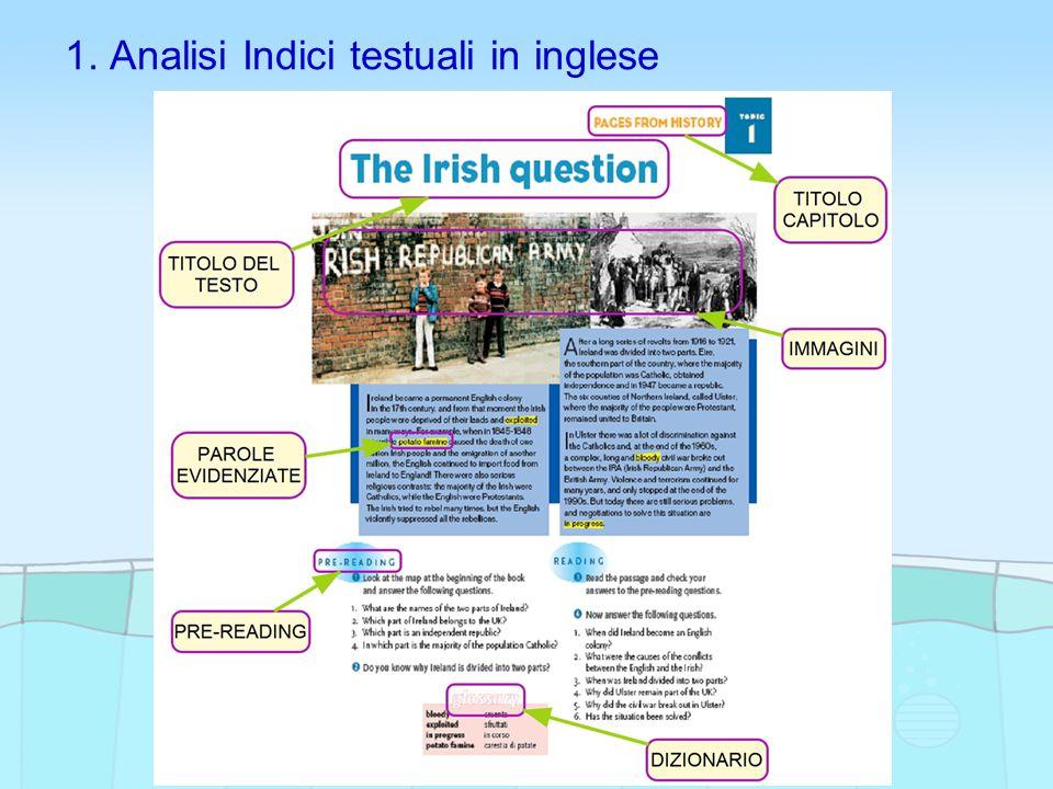 1. Analisi Indici testuali in inglese