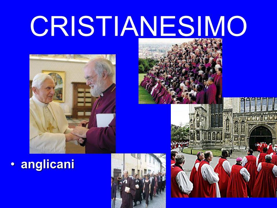 CRISTIANESIMO anglicanianglicani