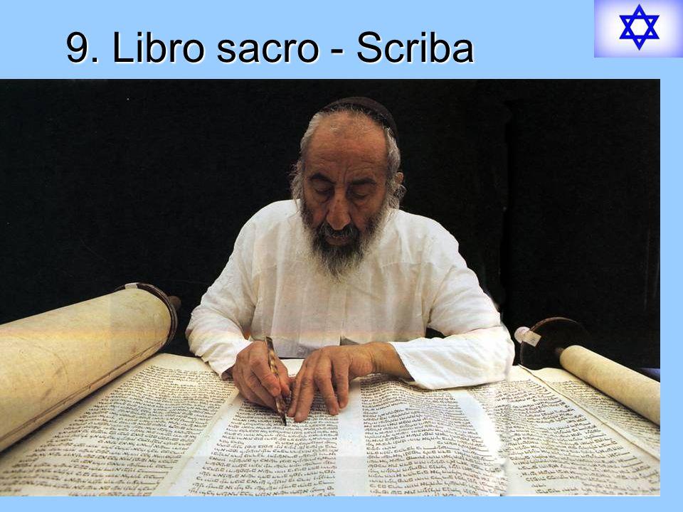 9. Libro sacro - Scriba