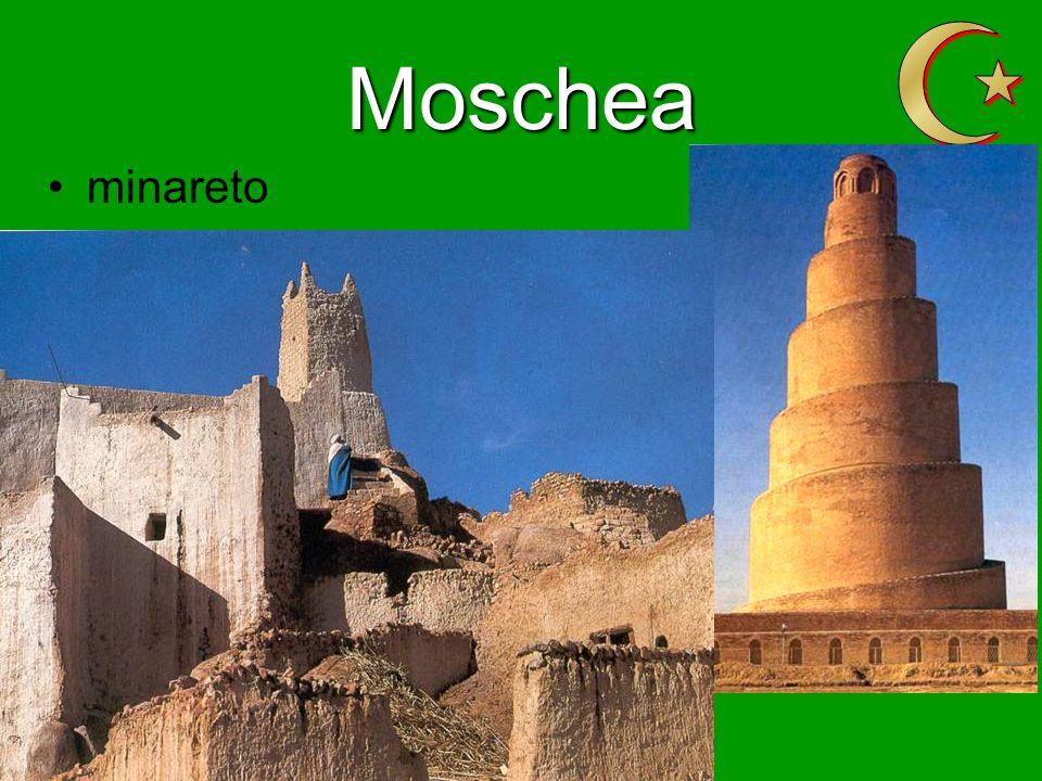 Moschea minareto