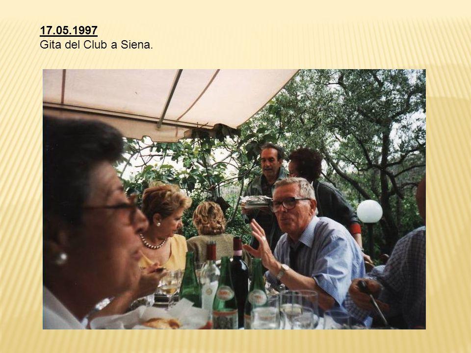 17.05.1997 Gita del Club a Siena.