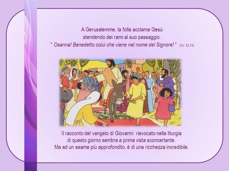 Il racconto del vangelo di Giovanni rievocato nella liturgia di questo giorno sembra a prima vista sconcertante.