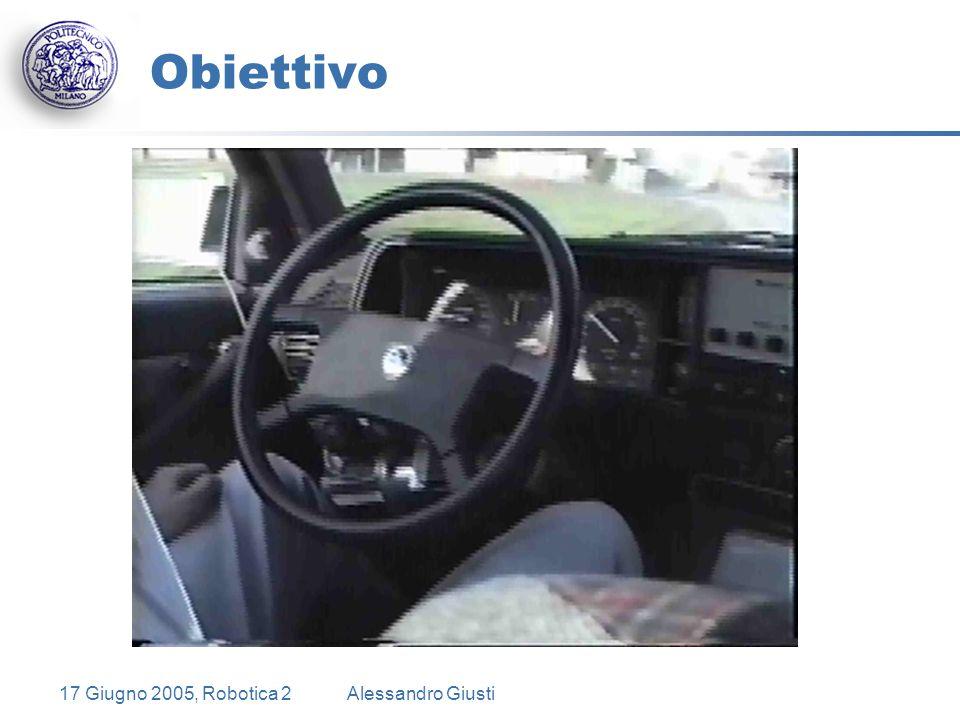 17 Giugno 2005, Robotica 2Alessandro Giusti Obiettivo