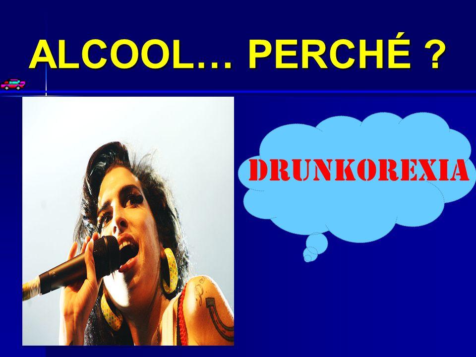 ALCOOL… PERCHÉ ? DRUNKOREXIA