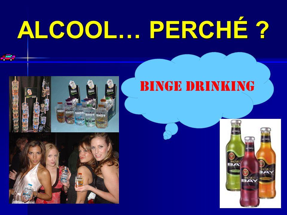 ALCOOL… PERCHÉ ? BINGE DRINKING
