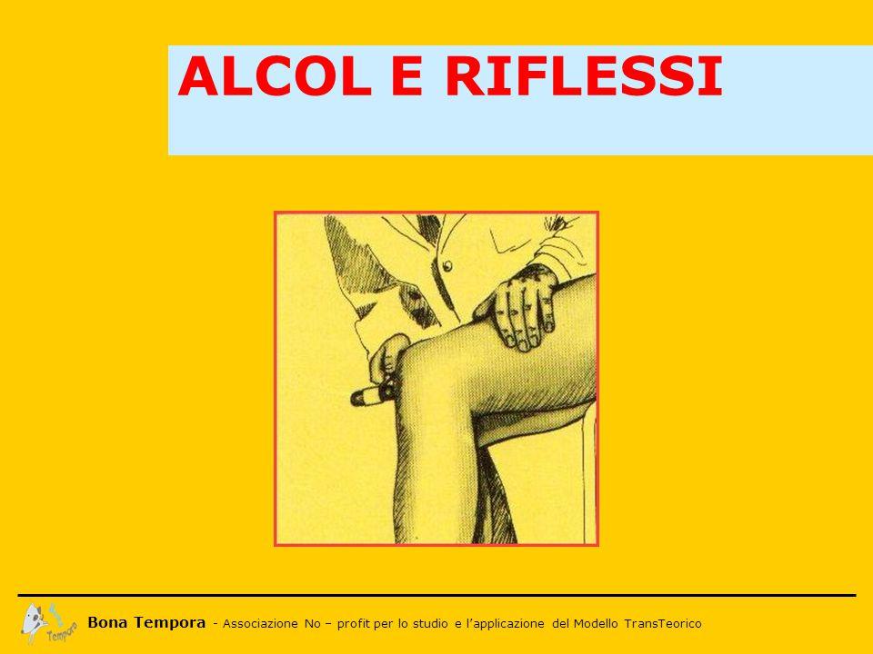 Bona Tempora - Associazione No – profit per lo studio e l'applicazione del Modello TransTeorico ALCOL E RIFLESSI