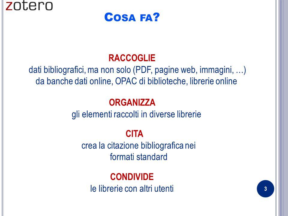 C OSA FA .